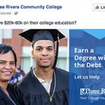 sample of Three Rivers Community College Digital Marketing Ad