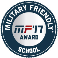 Military Friendly School 2017 Seal