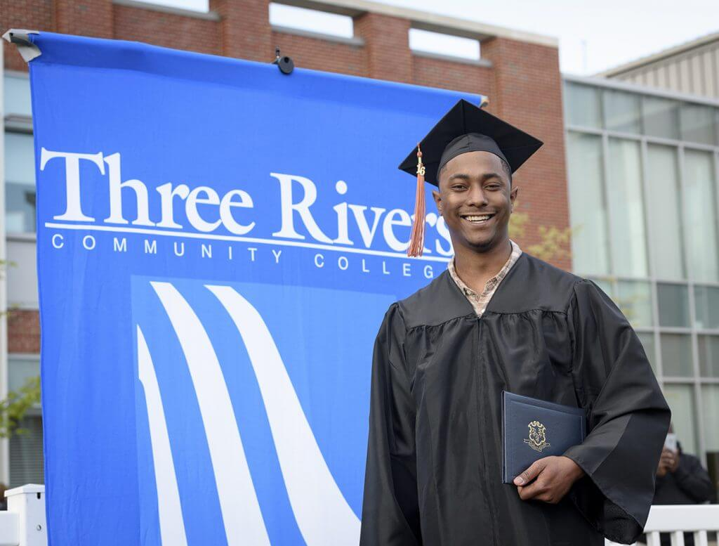 Graduate from Three Rivers Community College