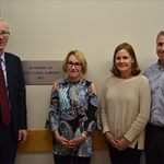 Dedication of Judith Albright Nursing Lab at Three Rivers Community College