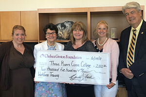 Donation for displaced Ridley-Lowell Students