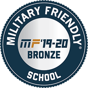 Military Friendly School Bronze 2019-2020 logo