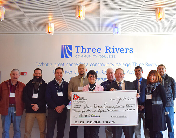 Three Rivers received $95,018 rebate check.