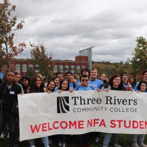 NFA Students Visit Three Rivers