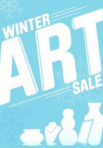 winter art sale