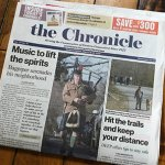 Front page news, TRCC professor