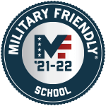 Military Friendly School 21-22 logo