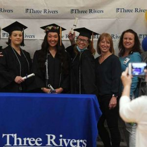 In The News | Students from all walks of life graduate from Three Rivers Community College in virtual ceremony