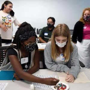 In The News | Girls learn about STEM careers during summer program